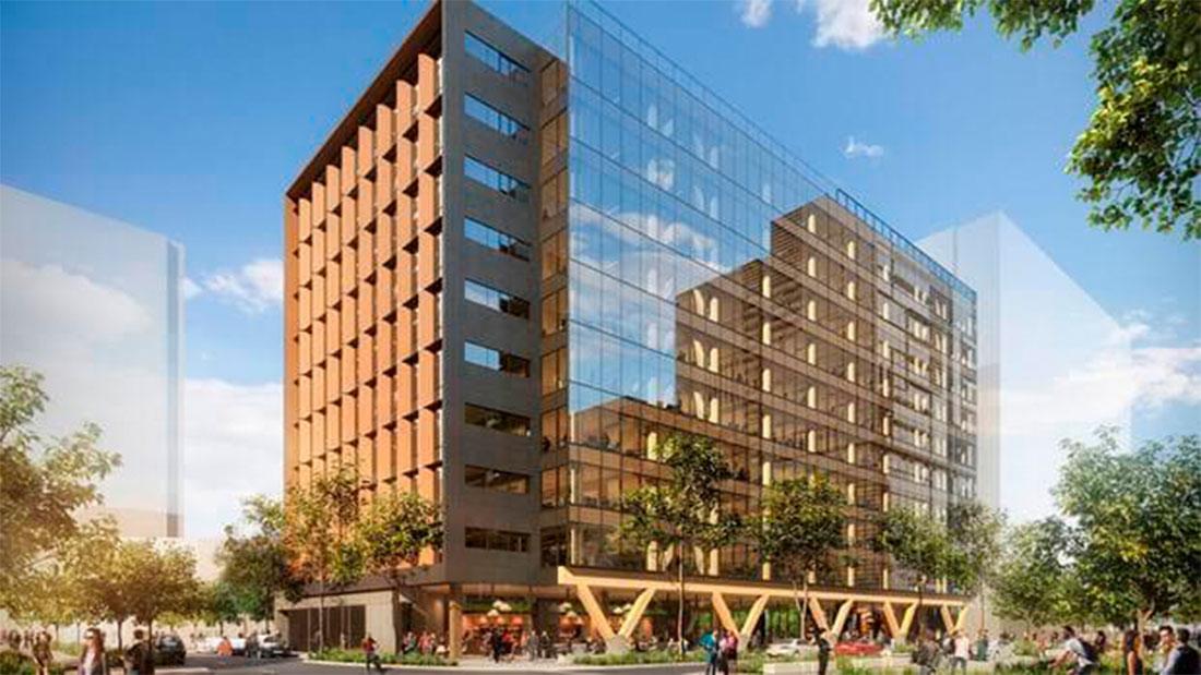 El edifio de oficinas de madera más alto del mundo se construirá en ...