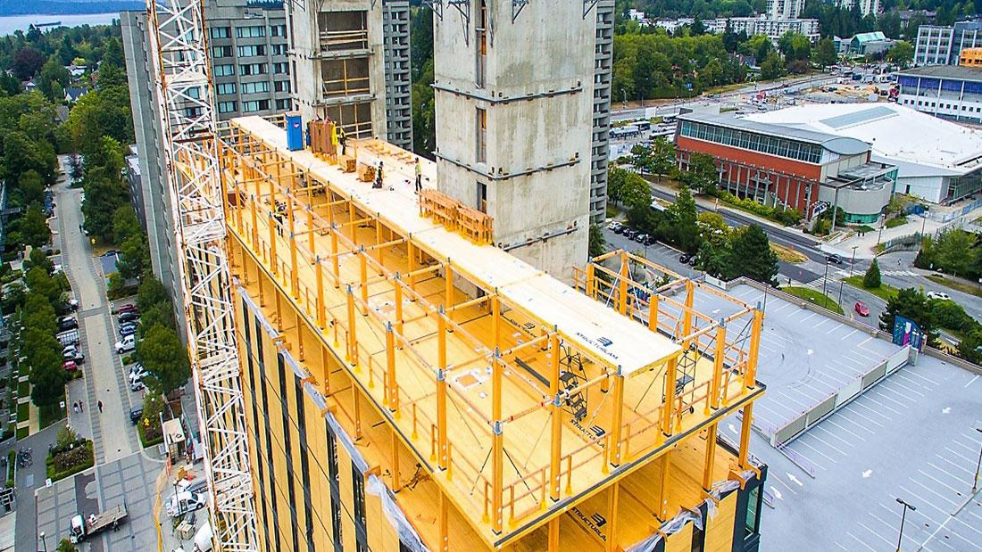 El uso de la madera para construir edificios altos ya es una realidad