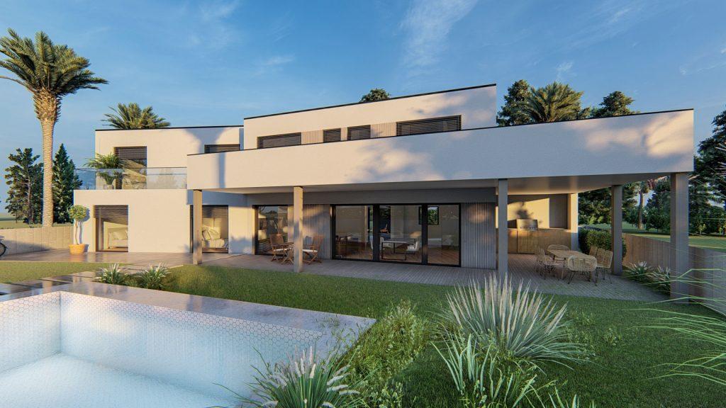 Proyectos Arquima - Casa S'Agaro